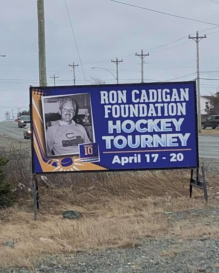 The 2nd Annual Ron Cadigan Hockey Tournament